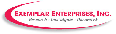 Logo, Exemplar Enterprises Inc., Investigation Services in Westwego, LA